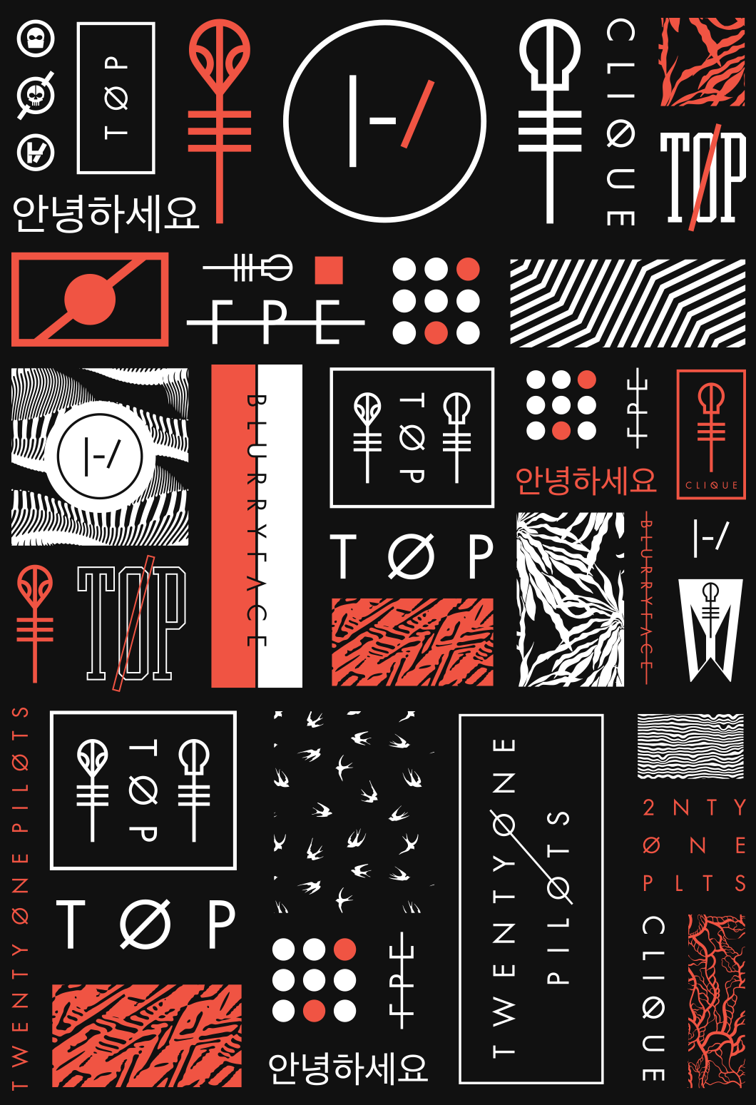 Case Design twenty one pilots phone case : Twenty One Pilots Logo Behind blurryface brandon rike